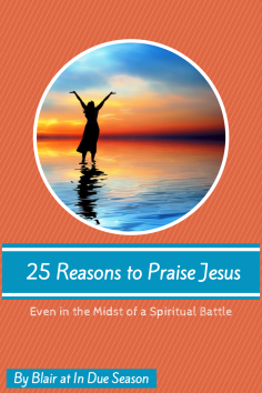 25 Reasons to Praise Jesus