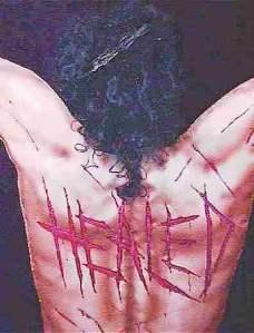 Jesus healed stripes