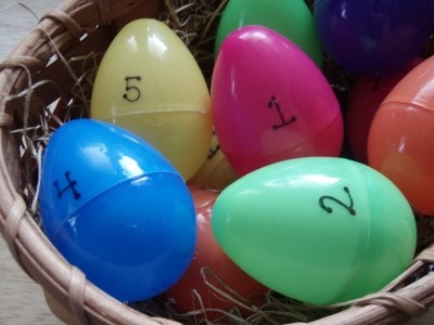 resurrection eggs numbered